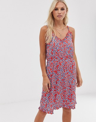 Vero Moda floral cami skater dress-Multi