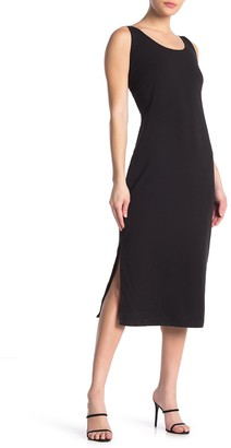 Good American Side Slit Bodycon Midi Dress (Regular & Plus Size)