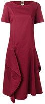 I'M Isola Marras ruffled flared dress - women - Cotton - 40