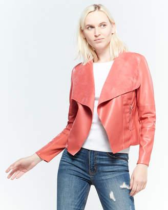 Bagatelle Open Faux Leather Jacket