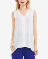Vince Camuto Lace-Trim High-Low Tunic
