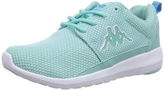 Kappa SPEED II Footwear, Unisex Adults' Low-Top Sneakers, Black (1110 black/white), (43 EU)