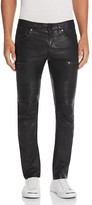 J Brand Acrux Moto Slim Fit Leather Pants