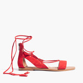 Madewell The Bridget Lace-Up Sandal
