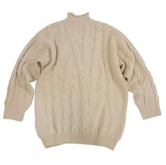 Marc Cain Beige Wool Knitwear for Women Vintage