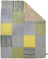 Trend Lab Hello Sunshine 2-Layer Patched Receiving Blanket