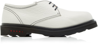 Marni Leather Lace-Up Oxfords