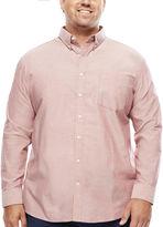 THE FOUNDRY SUPPLY CO. The Foundry Supply Co. Long-Sleeve Easy-Care Oxford Shirt - Big & Tall