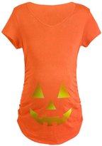 CafePress - Halloween Baby Bump - Cotton Maternity T-shirt, Cute & Funny Pregnancy Tee