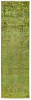 Solo Rugs Vibrance Overdyed Area Rug, 3' x 9'5