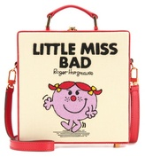 Olympia Le-Tan Little Miss Bad Canvas And Leather Shoulder Bag