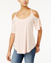 Jessica Simpson Cold-Shoulder High-Low Top