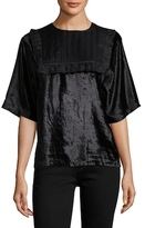 Manoush Lace Velvet Blouse