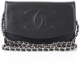 Chanel Black Caviar CC Envelope WOC Wallet On Chain