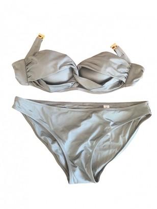 La Perla Grey Lycra Swimwear for Women
