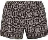 Madewell Foulard Paisley-Print Voile Shorts