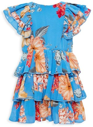 Bardot Junior Girl's BeverlyTiered Floral Dress