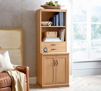 Pottery Barn Saratoga Bookcase with Doors