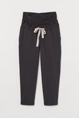 H&M MAMA Twill utility trousers