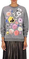 Christopher Kane Women's Flower-Graphic Sweatshirt-GREY