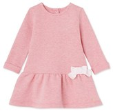 Petit Bateau Baby girls dress in cotton fleece
