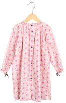 Makie Girls' Floral Button-Up Dress