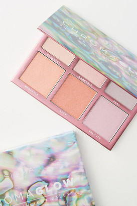 Sigma Beauty Sigma Chroma Glow Shimmer + Highlight Palette By in Orange Size ALL