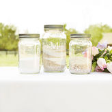 Cathy's Concepts CATHYS CONCEPTS Mason Jar Sand Ceremony Set