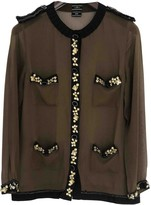 By Malene Birger Khaki Silk Top for Women