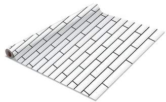 WFX Utility Barbera 2 Pack Subway Tile Self-Adhesive Shelf Liner WFX Utility Finish: White