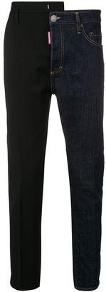 DSQUARED2 Contrast Panels Jeans