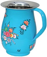 Karma Living Blue Floral Design Jug