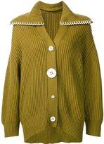 Edun chunky knitted cardigan