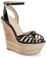 Jessica Simpson 'Aimms' Studded Platform Wedge Sandal (Women)
