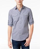 Michael Kors Men's Kent Check-Pattern Cotton Shirt