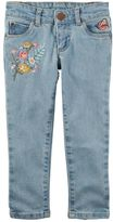 Carter's Girls 4-8 Embroidered Denim Pants