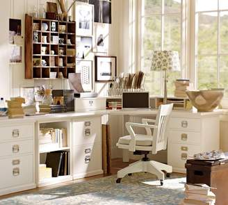 Pottery Barn Corner Desktop
