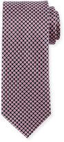Brioni Diamond-Print Silk Tie