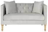 Safavieh Sarah Tufted Settee with Pillows