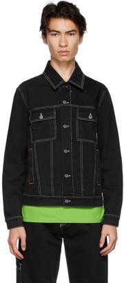 Rassvet Black Denim Trucker Jacket
