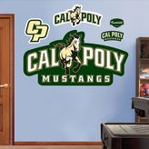 Fathead Cal Poly State Mustangs Logo Wall Decals