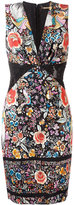 Roberto Cavalli floral print fitted dress - women - Polyamide/Spandex/Elastane/Viscose - 42