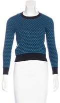 Marc by Marc Jacobs Printed Wool Sweater