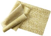 Modern Twist Silicone Table-Runner, Twine, Gold, 72 by 14 inches - Gold
