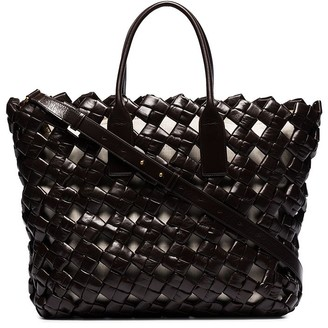 Bottega Veneta Window woven leather tote