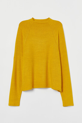 H&M Stand-up-collar Top