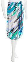 Emilio Pucci Printed A-Line Skirt