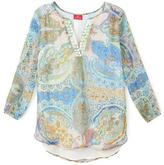 Togther Printed Tunic Blouse