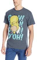 The Simpsons Men's Homer D'Oh 90's Retro T-Shirt