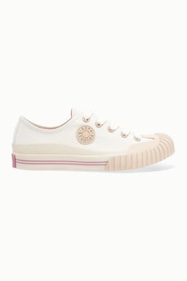 Acne Studios Brady Cotton-canvas Sneakers - White